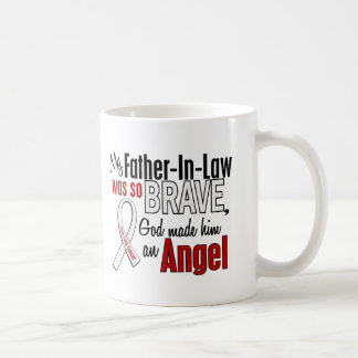 My Father-In-Law Is An Angel Lung Cancer Mugs