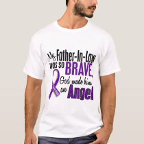 My Father-In-Law Is An Angel Pancreatic Cancer T-Shirt