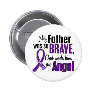 My Father Is An Angel Pancreatic Cancer Pins