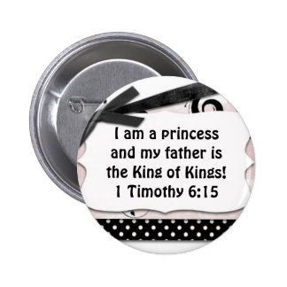 My father is King of King's Pinback Button