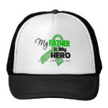 My Father is My Hero - Kidney Cancer Mesh Hats