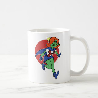 My Fave Martian Classic White Coffee Mug