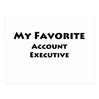 My Favorite Account Executive Post Card