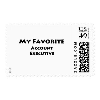 My Favorite Account Executive Postage Stamp
