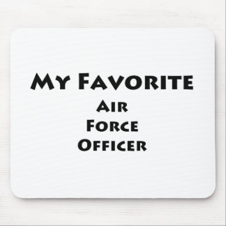 My Favorite Air Force Officer Mousepad
