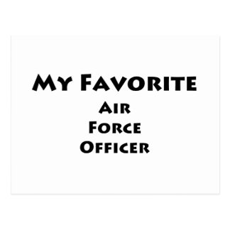 My Favorite Air Force Officer Post Card