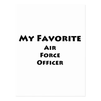 My Favorite Air Force Officer Postcards