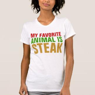 My favorite animal is Steak T-shirt
