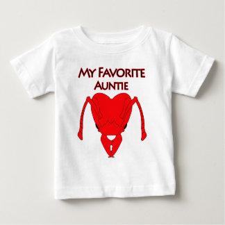 My Favorite Auntie Baby T-Shirt