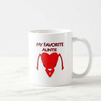 My Favorite Auntie Classic White Coffee Mug