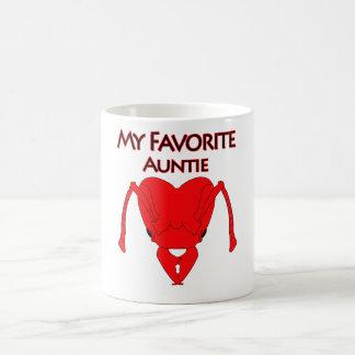 My Favorite Auntie Coffee Mug