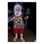 MY FAVORITE BEACH BUM CHRISTMAS GREETING CARD
