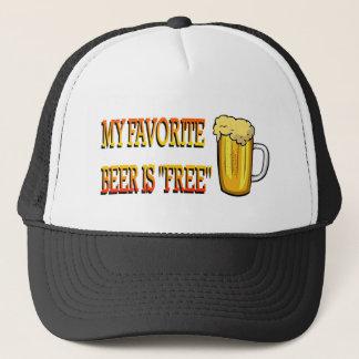 My Favorite Beer is Free Trucker Hat