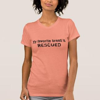 My favorite breed is RESCUED Tee