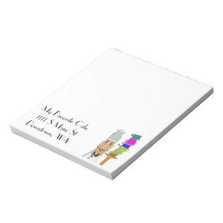 My Favorite Cafe - Customizable Notepad