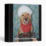 My Favorite Chicken Recipes 3 Ring Binder