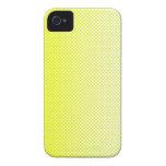 My Favorite color Amarillo Blanco Case-Mate iPhone 4 Coberturas