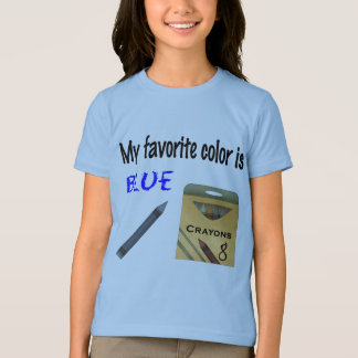 My Favorite Color is Blue T-Shirt