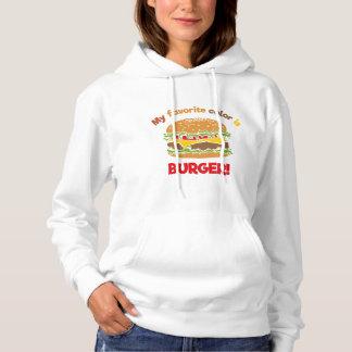 My favorite color is Burger! Hoodie