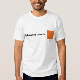 My Favorite Color is CMYK Orange T-Shirt
