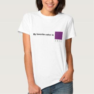 My Favorite Color is CMYK Purple T-Shirt