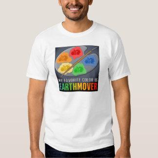 My Favorite Color Is Earthmover Scraper Mens T-Shi Tee Shirt