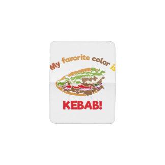 My favorite color is Kebab! Business Card Holder