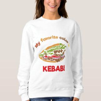 My favorite color is Kebab! Sweatshirt