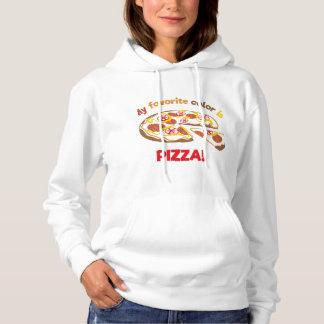 My favorite color is pizza! hoodie