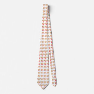 My favorite color is pizza! neck tie