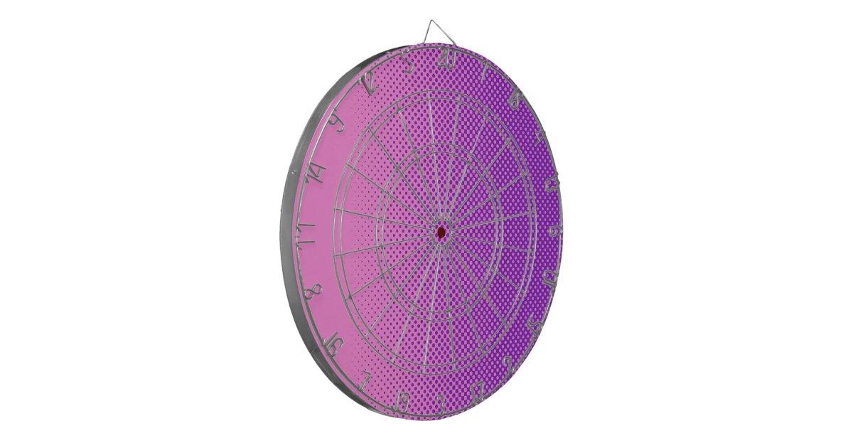 my favorite color pink violet dartboard zazzle. Black Bedroom Furniture Sets. Home Design Ideas
