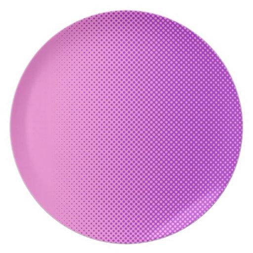 my favorite color pink violet dinner plate zazzle. Black Bedroom Furniture Sets. Home Design Ideas