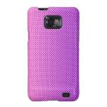 My Favorite -color-rosa violeta Samsung Galaxy S2 Carcasas