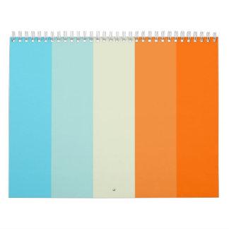 My favorite colors calendar