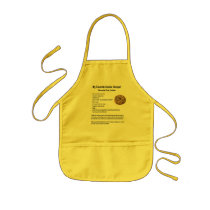 My Favorite Cookie Recipe Chocolate Chips Kids' Apron