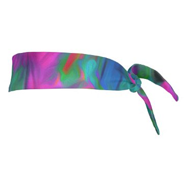 Beach Themed My Favorite Flower Colors Tie Headband