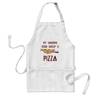 My Favorite Food Group is Pizza Adult Apron