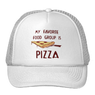 My Favorite Food Group is Pizza Trucker Hat