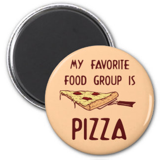 My Favorite Food Group is Pizza Magnet