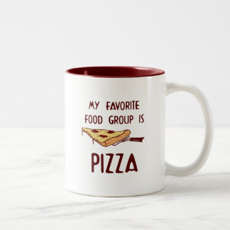 My Favorite Food Group is Pizza Mugs
