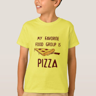 My Favorite Food Group is Pizza T-Shirt