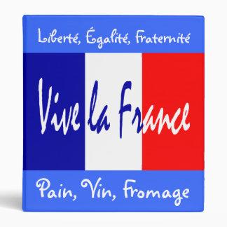 My Favorite French Recipes - Vive La France Binder