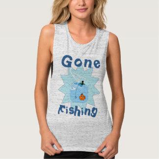 My Favorite Gone Fishing Tank Top