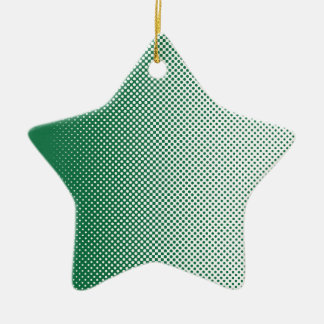 My Favorite Green and White color is Ceramic Ornament