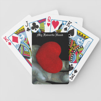 MY Favorite Hand Bicycle Playing Cards