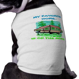 MY FAVORITE HOME POP-UP CAMPER ~ TRAVEL PET SHIRT!