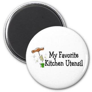 My Favorite Kitchen Utensil 2 Inch Round Magnet