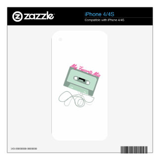 My Favorite Mix Skins For The iPhone 4S