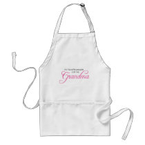 My Favorite People Call Me Grandma Adult Apron
