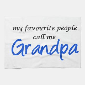 My favorite people call me Grandpa Towel